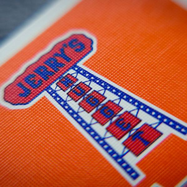 Vintage Feel Jerry's Nuggets (Orange) Playing Cards