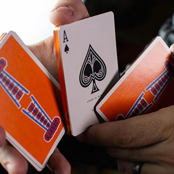 Gilded Vintage Feel Jerry's Nuggets (Orange) Playing Cards