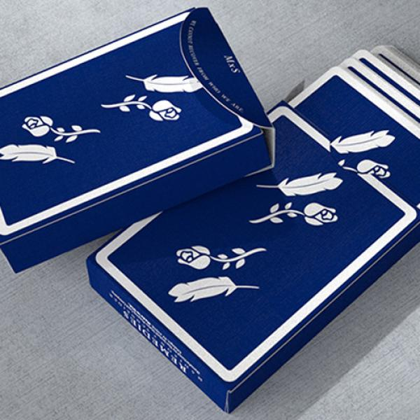 Remedies (Royal Blue) Playing Cards by Madison x Schneider