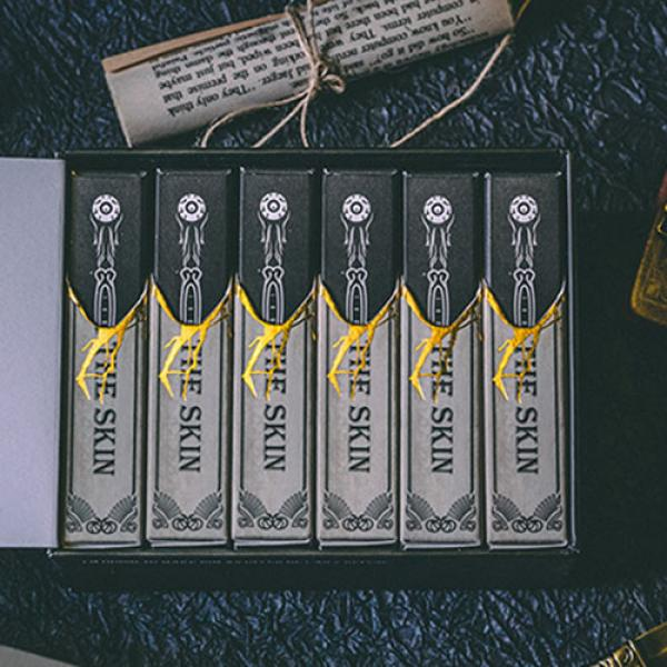 Under the Skin (Mono Edition) Playing Cards by Acelion