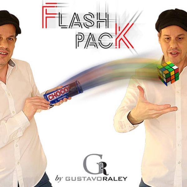 FLASH PACK (Gimmicks and Online Instructions) by Gustavo Raley