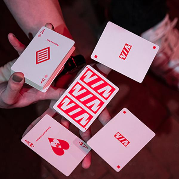 Mazzo di carte Prototype (Supreme Red) Playing Cards by Vin