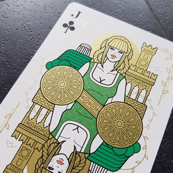 Italia Segreta Playing Cards by Thirdway Industries