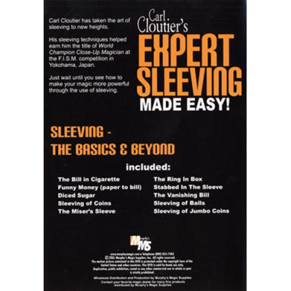 Expert Sleeving Made Easy by Carl Cloutier - DVD
