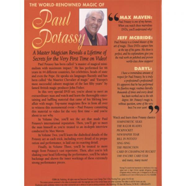 World Renowned Magic of Paul Potassy - DVD