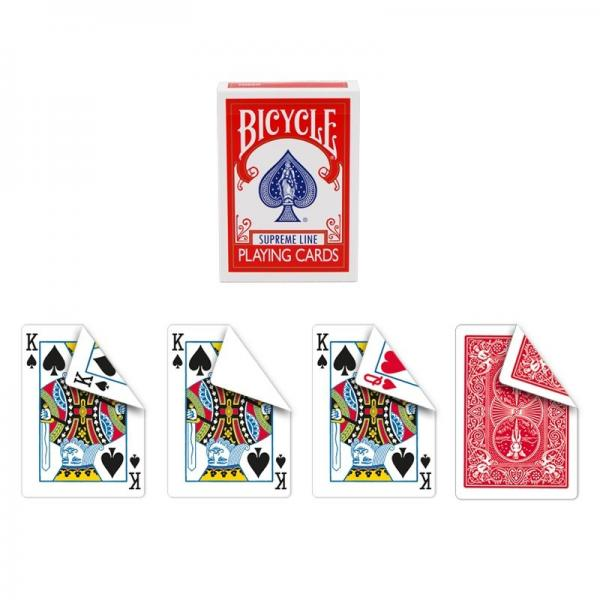 Bicycle Supreme Line - One way forcing deck - Red back (sealed KS)