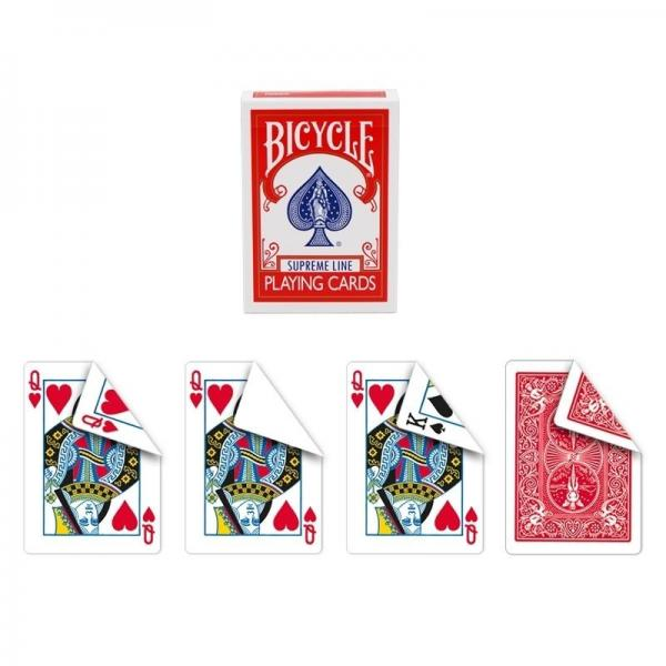 Bicycle Supreme Line - One way forcing deck (QH)