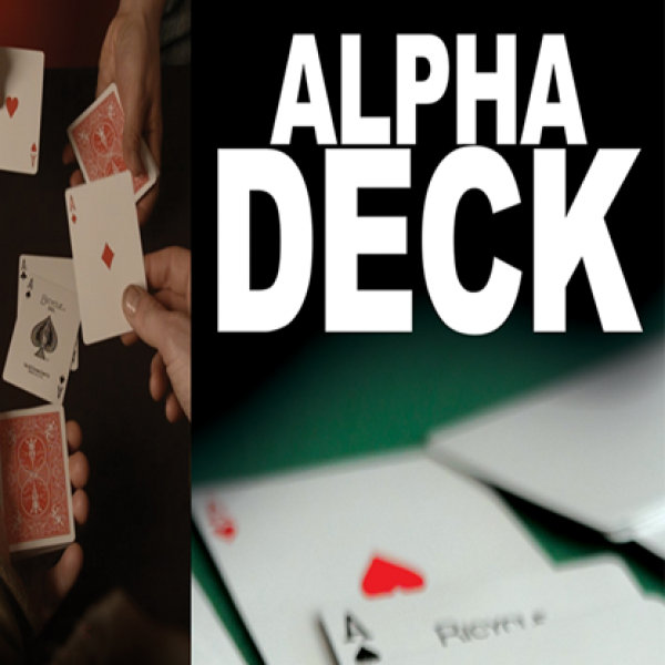 Alpha Deck (Cards and Online Instructions) by Rich...